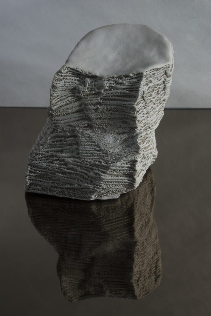 Doris Becker white stone VIII (photo©Luc Ewen)